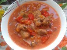 Gulasz ze schabu z pomidorami