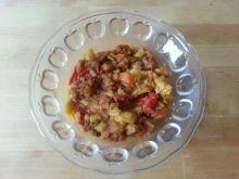 Gulasz z curry na słodko