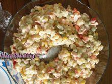 Gwiaździsta sałatka warzywna