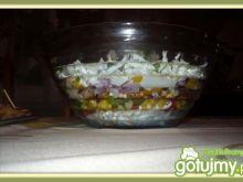 Gyros-kolorowa sałatka