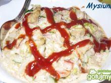 Gyros z ketchupem