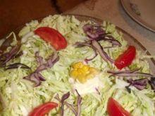Gyrosowa sałatka