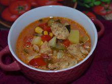 Zupa gyros z ziemniakami