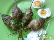 Gyrosy z mięsa mielonego wołowego