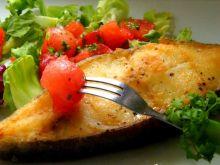 Halibut z salsą pomidorowo-arbuzową