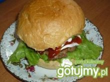 Hamburger domowy Wafelka