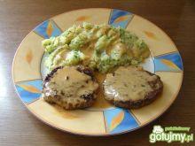 Hamburgery Wołowe z Ziemniakami