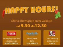 Happy Hours na Bielanach