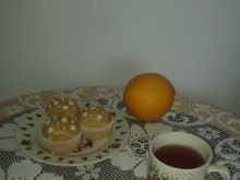 Herbaciane muffiny pomarańczowo-imbirowe