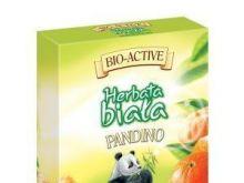 Herbata biała z owocem mandarynki