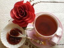 Herbata  cynamonowo- różana: