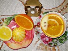 Herbata miodowa z cytrusami :