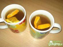 Herbata pomarańczowa z miodem