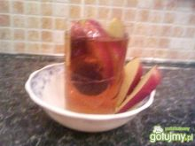 herbata z jabłkiem :)