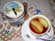 Herbata z lawendą i jabłkiem :