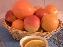 Herbata zielona z nutą pomarańczy i miód