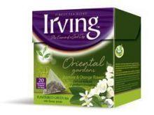 Herbata zielona z płatkami jaśminu