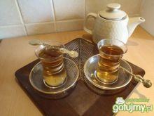 Herbatka rumowo-miodowa
