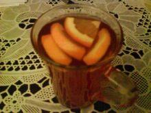 herbatka z pomarańczą