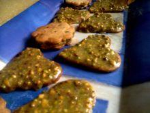 Herbatniki z pistacjowo-czekoladowym kremem
