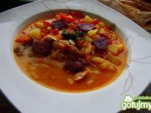 Hiszpańska zupa z soczewicy