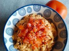 Hummus z suszonymi pomidorami