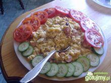 idealna jajecznica na śniadanie