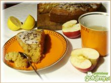 Imbirowo-miodowe ciasto