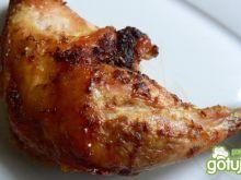 Imbirowo- miodowo- sojowe udka z kurczak