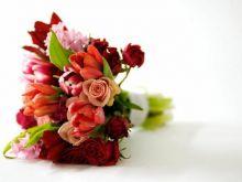 Imieniny - dzień radosny, pełen kwiatów...