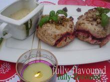 Indycze kokilki z sosem estragonowo-cebulowym