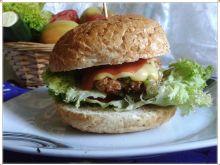 Indyk burger z bobem