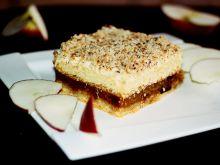 Jabłecznik z  mascarpone