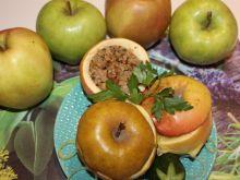 Jabłka faszerowane mięsem mielonym