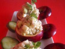 Jabłka faszerowane pęczakiem