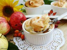 Jabłka pieczone pod cytrynową bezą
