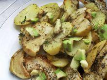 Jabłka pieczone z ziemniakami