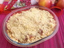 Jabłka zapiekane pod kruszonką