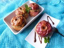 Jabłka zapiekane z kaszą jaglaną