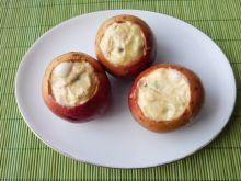 Jabłka zapiekane z serem