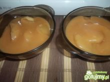 Jabłkla z sosem karmelowym