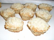 Jabłkowe muffinki z kruszonką
