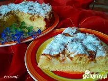 Jabłkowe rwane ciasto