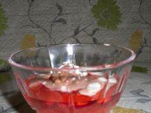 jabłkowo-truskawkowa galaretka