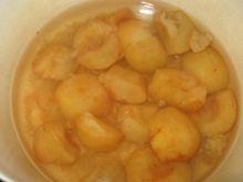 jabłkowy kompot do obiadu