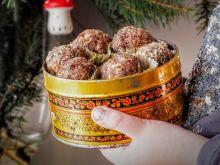 Jaglane trufle- edycja świąteczna