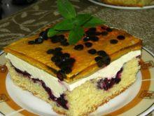 Jagodowe ciasto z kremem
