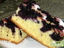 Jagodowe ciasto z olejem