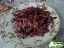 Jagodowe kokardki