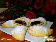 Jagodowe pierożki z piekarnika